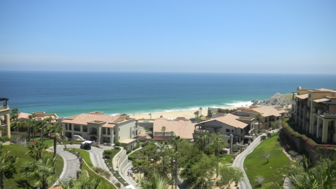 Landscape View of Resort Property in Cabo